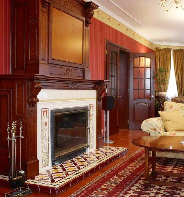 Фотография: Гостиная в стиле Классический, Дизайн интерьера – фото на INMYROOM