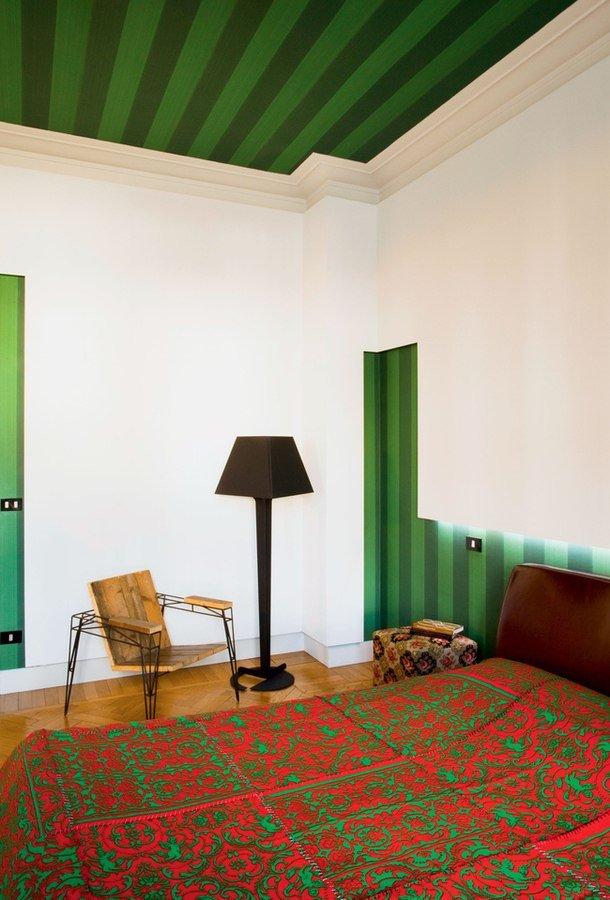 Фотография: Спальня в стиле Прованс и Кантри, Современный, Декор интерьера, Архитектурные объекты, Потолок – фото на InMyRoom.ru