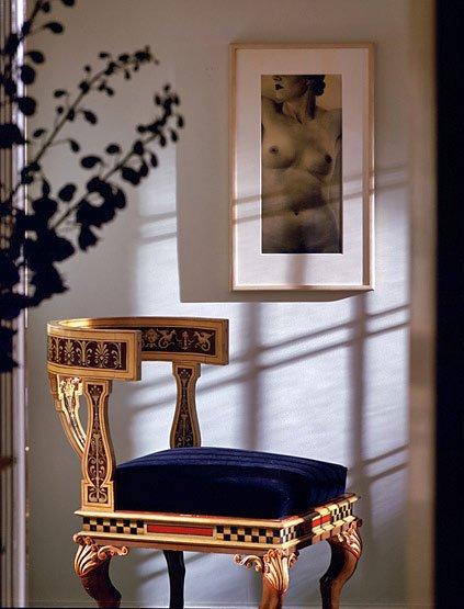 Фотография: Мебель и свет в стиле Классический, Современный, Эклектика, Дома и квартиры, Интерьеры звезд, Ар-деко – фото на INMYROOM