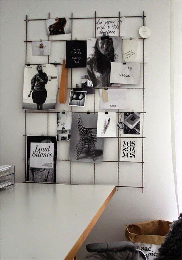 Фотография: Декор в стиле Лофт, Скандинавский, Кабинет, Интерьер комнат – фото на INMYROOM