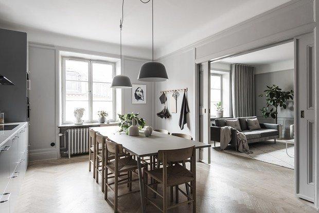 Фотография: Кухня и столовая в стиле Скандинавский, Декор интерьера, Советы, Стокгольм, Дорого и бюджетно – фото на INMYROOM