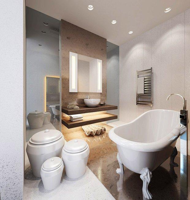 Фотография: Ванная в стиле Восточный, Стиль жизни, Советы – фото на INMYROOM