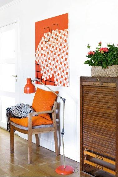 Фотография: Декор в стиле Прованс и Кантри, Скандинавский, Современный, Декор интерьера, Дизайн интерьера, Цвет в интерьере, Оранжевый – фото на INMYROOM
