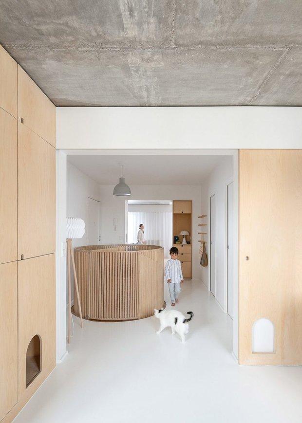 Фотография:  в стиле , Современный, Декор интерьера, Квартира, Франция, Париж, 4 и больше, Более 90 метров – фото на INMYROOM