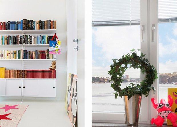 Фотография: Прочее в стиле , Скандинавский, Малогабаритная квартира, Квартира, Цвет в интерьере, Дома и квартиры – фото на INMYROOM