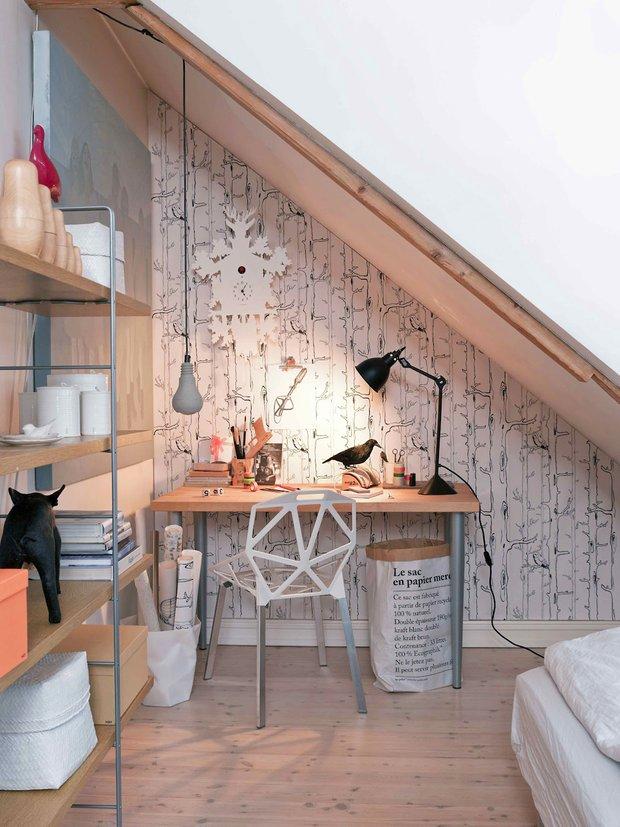 Фотография: Офис в стиле Современный, Квартира, Дома и квартиры, Интерьеры звезд – фото на INMYROOM