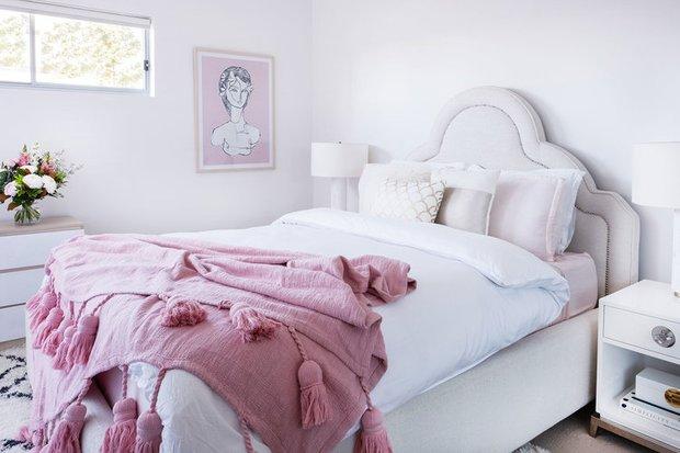 Фотография:  в стиле , Кухня и столовая, Гостиная, Спальня, Скандинавский, Декор интерьера, Квартира, Австралия, Розовый, Голубой – фото на INMYROOM