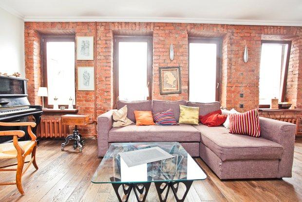 Фотография: Прочее в стиле Современный, Квартира, Дома и квартиры, Перепланировка, Ремонт, Стена – фото на INMYROOM