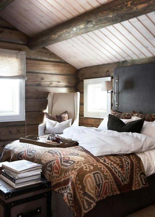 Фотография: Спальня в стиле Прованс и Кантри, Современный, Чердак, Мансарда – фото на INMYROOM