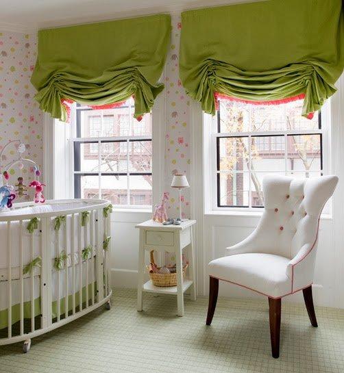 Фотография: Детская в стиле Прованс и Кантри, Декор интерьера, Текстиль, Шторы – фото на INMYROOM