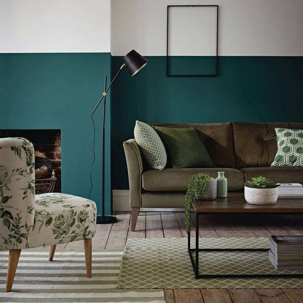 Фотография: Гостиная в стиле Скандинавский, Декор интерьера, Зеленый, растения в горшках в интерьере, комнатные растения для ванной комнаты – фото на INMYROOM