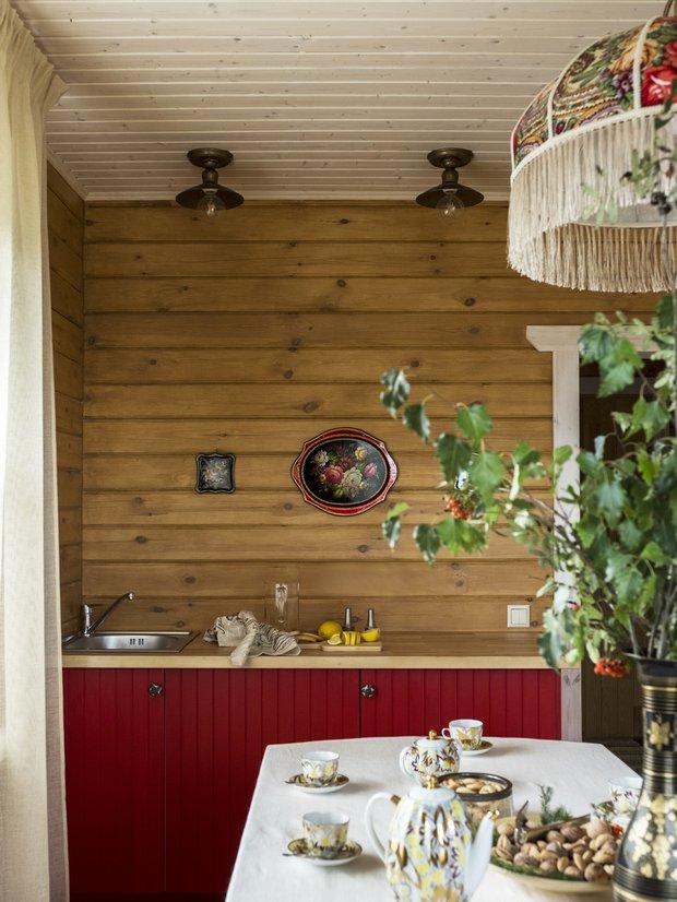Фотография: Кухня и столовая в стиле Прованс и Кантри, Советы, Ремонт на практике, Дом и дача, Анна Рагулина, строительство бани – фото на INMYROOM
