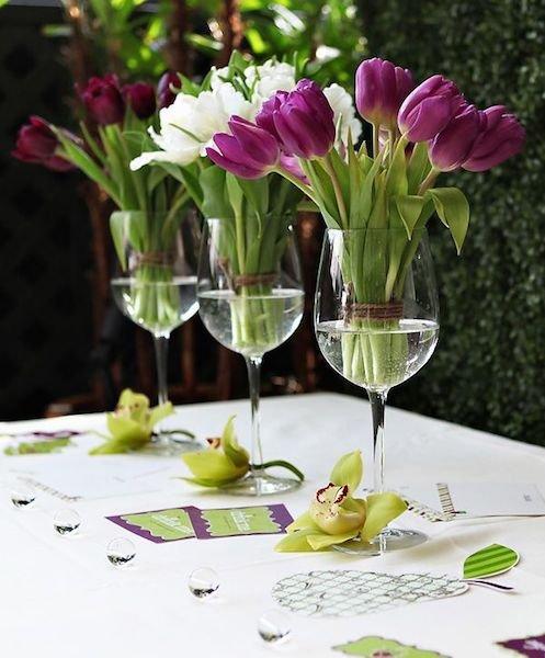 Фотография: Флористика в стиле , Декор интерьера, Аксессуары, Стол, Сервировка стола – фото на INMYROOM