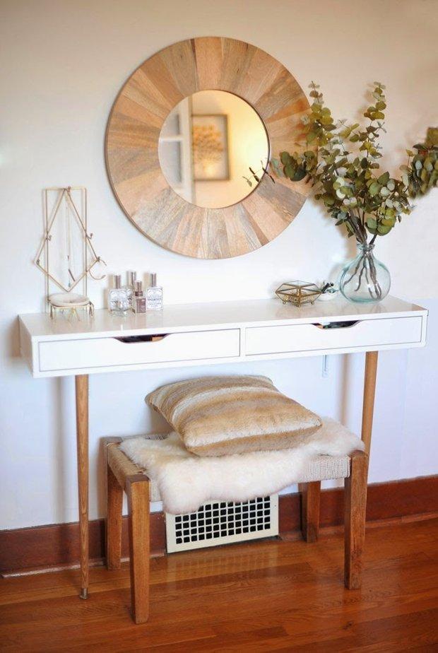 Фотография: Прихожая в стиле Скандинавский, DIY, ИКЕА, дизайн-хаки, переделка старой мебели фото, икеа-хак – фото на INMYROOM