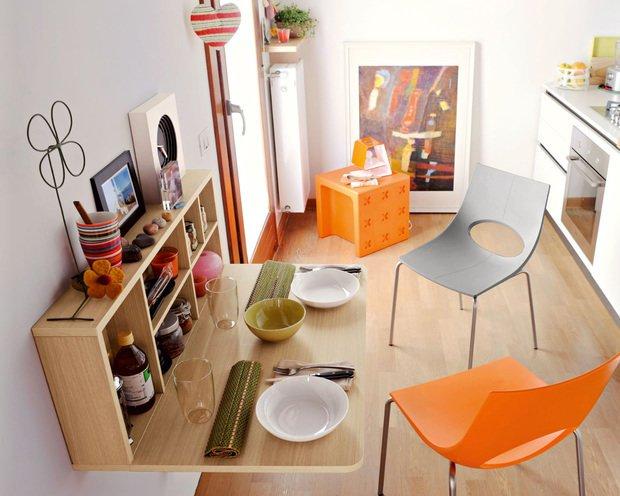 Фотография:  в стиле , Кухня и столовая, Перепланировка, Студия 3.14, Марина Козлякова, Nolte Küchen – фото на INMYROOM