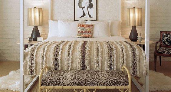 Фотография: Спальня в стиле Скандинавский, Декор интерьера, Дом, Декор дома, Цвет в интерьере – фото на InMyRoom.ru