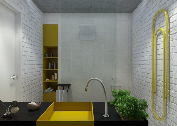 Фотография: Ванная в стиле Скандинавский, Современный, Квартира, Дома и квартиры, IKEA – фото на INMYROOM