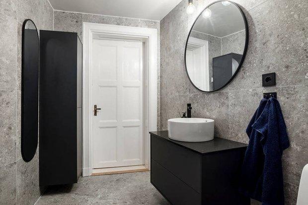 Фотография: Ванная в стиле Скандинавский, Минимализм, Квартира, Советы, 40-60 метров – фото на INMYROOM