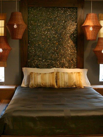 Фотография: Спальня в стиле Восточный, Декор интерьера, DIY, Мебель и свет – фото на INMYROOM