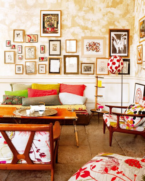 Фотография: Гостиная в стиле Прованс и Кантри, Классический, Современный, Декор интерьера, Квартира, Дома и квартиры, Прованс – фото на INMYROOM