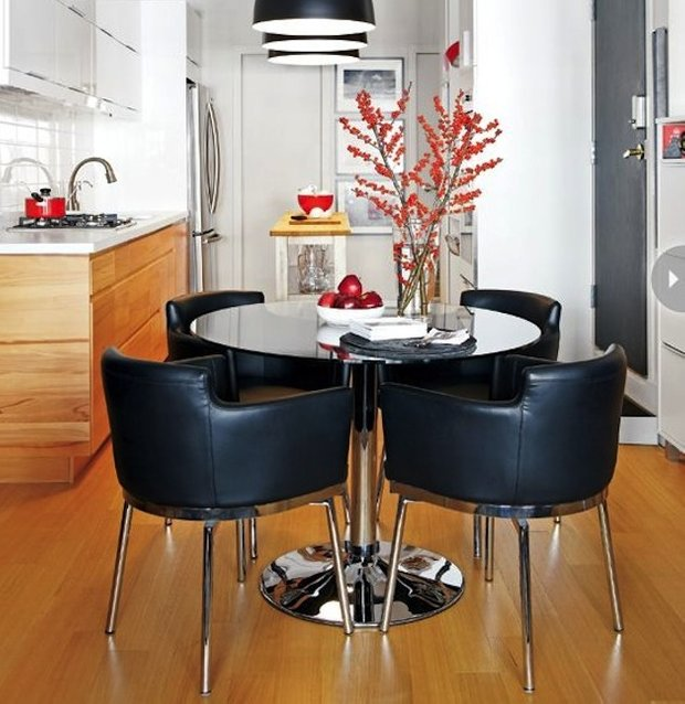 Фотография: Кухня и столовая в стиле Лофт, Современный, Интерьер комнат, Обеденная зона – фото на INMYROOM