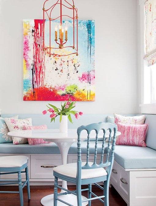 Фотография: Кухня и столовая в стиле Современный, Декор интерьера, Дом, Цвет в интерьере, Дома и квартиры – фото на INMYROOM