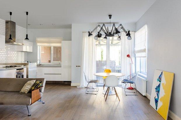 Фотография: Кухня и столовая в стиле Скандинавский, Советы, Legrand – фото на INMYROOM