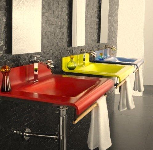 Фотография: Ванная в стиле Лофт, Современный, Декор интерьера, Квартира, Декор, Советы, раковина, раковина в ванной – фото на INMYROOM