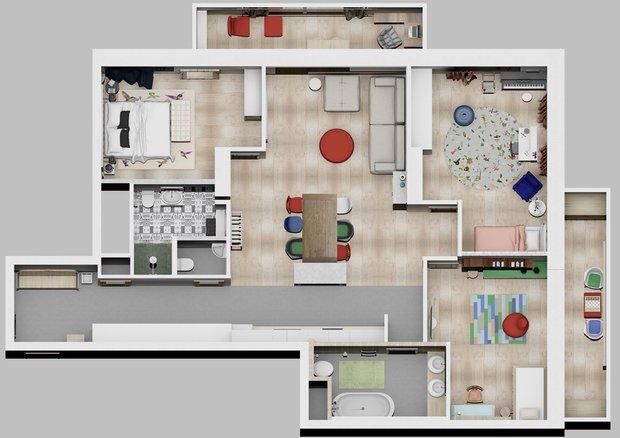 Фотография: Планировки в стиле , Советы, Системы хранения, Международная Школа Дизайна, квартира со свободной планировкой, свободная планировка, перепланировка студии, хранение вещей, организация хранения, хранение вещей в квартире, система хранения в квартире, хранение в квартире, Виктор Дембовский, ошибки в планировке – фото на INMYROOM