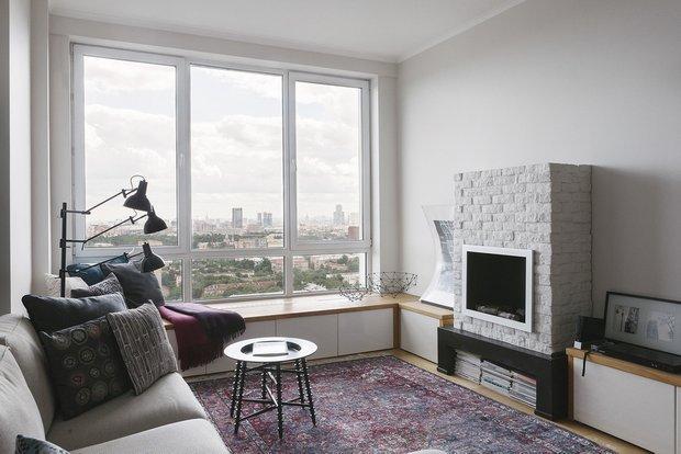 Дизайн трехкомнатной квартиры в Москве