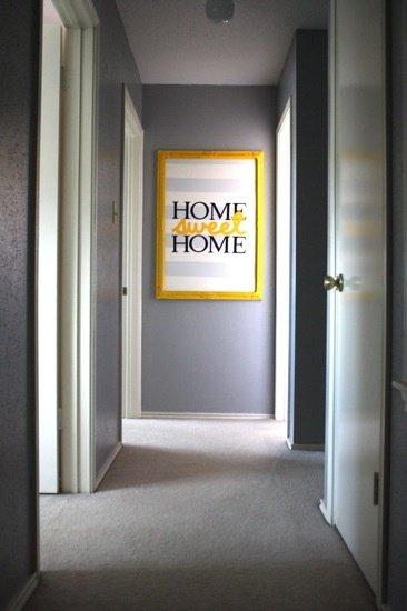 Фотография: Прихожая в стиле Лофт, Декор интерьера, Дизайн интерьера, Цвет в интерьере, Желтый – фото на InMyRoom.ru