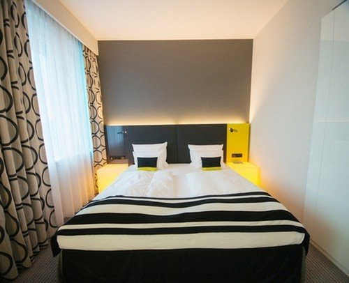 Фотография: Спальня в стиле Современный, Малогабаритная квартира, Квартира – фото на InMyRoom.ru