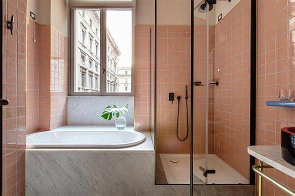 Фотография: Ванная в стиле Скандинавский, Декор интерьера, Декор, Розовый – фото на INMYROOM