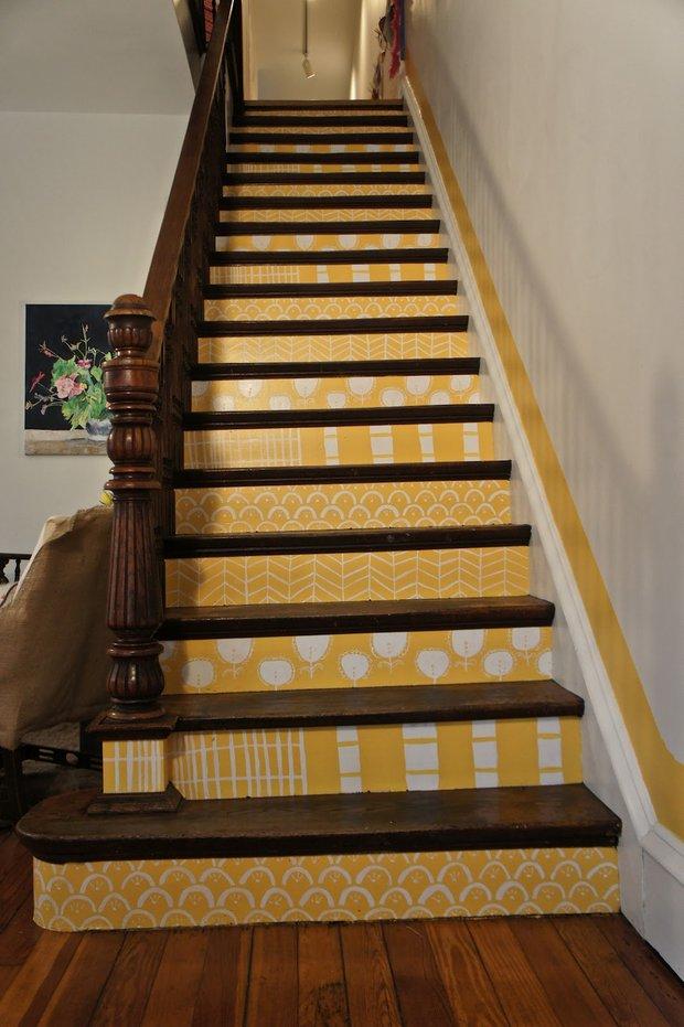 Фотография: Декор в стиле Современный, Декор интерьера, Декор дома, Лестница, Роспись – фото на InMyRoom.ru