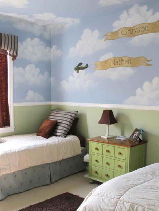 Фотография: Спальня в стиле Современный, Детская, Декор интерьера, Интерьер комнат, Мебель и свет – фото на INMYROOM
