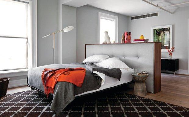 Фотография: Спальня в стиле Современный, Хай-тек, Интерьер комнат – фото на INMYROOM