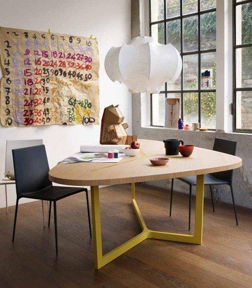 Фотография: Мебель и свет в стиле Лофт, Квартира, Цвет в интерьере, Дома и квартиры, B&B Italia – фото на INMYROOM
