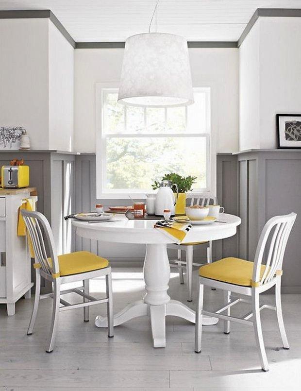 Фотография: Кухня и столовая в стиле Скандинавский, Интерьер комнат, Обеденная зона – фото на INMYROOM