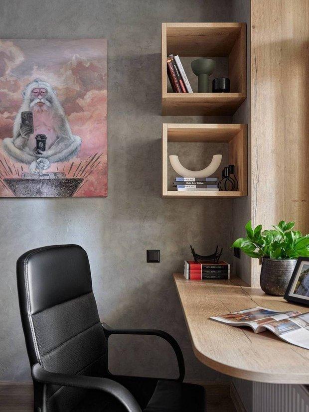 Фотография: Кабинет в стиле Современный, Советы, Подоконник, как задействовать подоконник – фото на INMYROOM