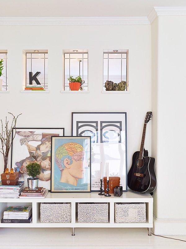 Фотография: Декор в стиле Скандинавский, Современный, Декор интерьера, Квартира, Цвет в интерьере, Дома и квартиры, Стены, Гетеборг – фото на INMYROOM