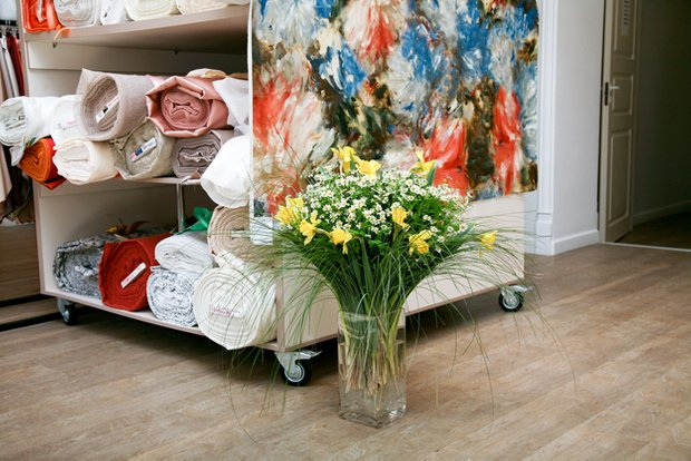 Фотография: Кухня и столовая в стиле Современный, Текстиль, Индустрия, События, Ткани – фото на INMYROOM