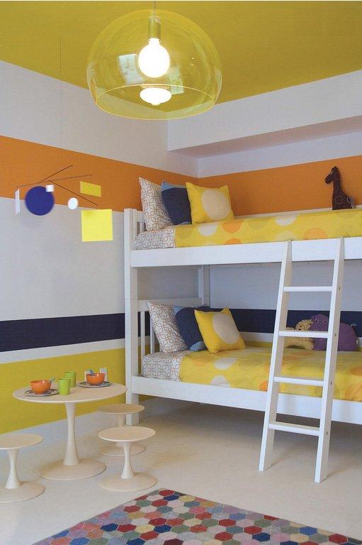 Фотография: Детская в стиле Современный, Декор интерьера, Дизайн интерьера, Цвет в интерьере, Желтый – фото на INMYROOM