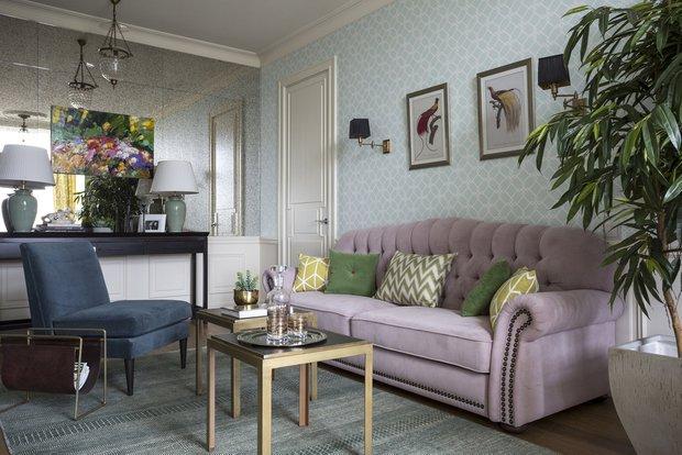 Фотография: Гостиная в стиле Классический, Современный, Декор интерьера, Советы, Марина Жукова – фото на INMYROOM