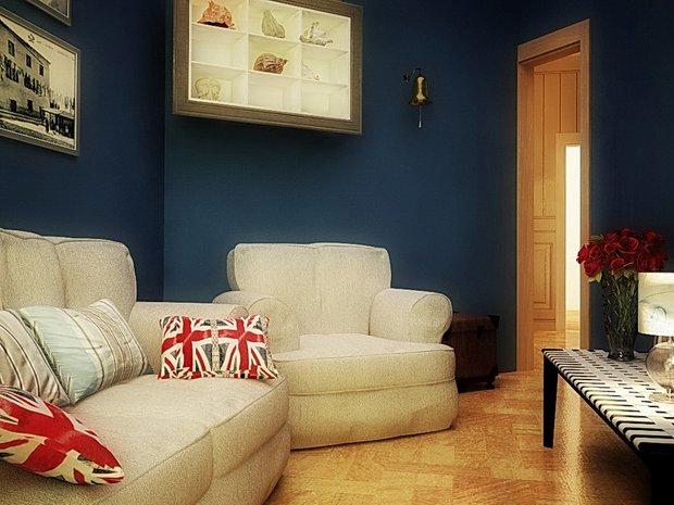 Фотография: Гостиная в стиле Современный, Кухня и столовая, Дом, Дома и квартиры – фото на InMyRoom.ru