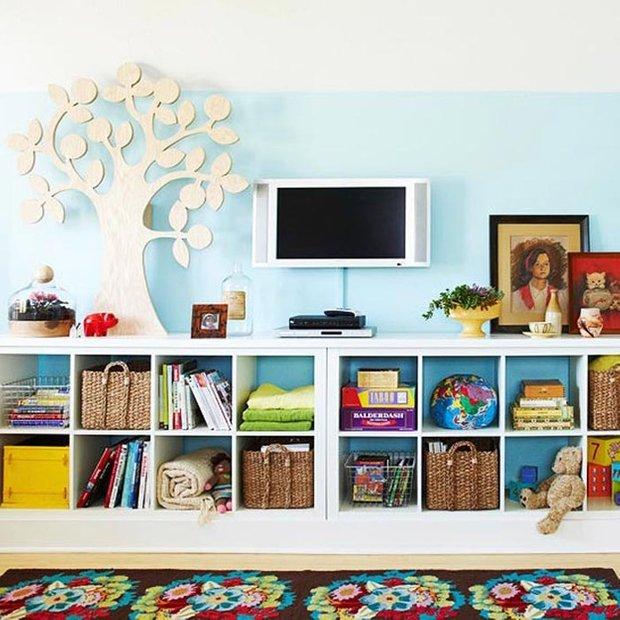 Фотография: Детская в стиле Скандинавский, Квартира, Дома и квартиры, Игрушки – фото на INMYROOM