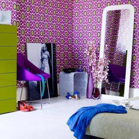 Фотография:  в стиле , Эклектика, Декор интерьера, Декор дома, Цвет в интерьере, Геометрия в интерьере – фото на INMYROOM