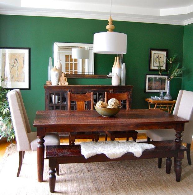 Фотография: Кухня и столовая в стиле Современный, Эклектика, Декор интерьера, Дизайн интерьера, Цвет в интерьере – фото на InMyRoom.ru
