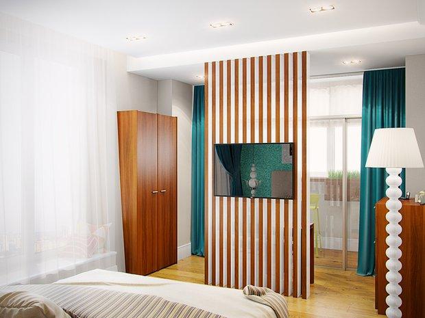 Фотография: Спальня в стиле Современный, Эклектика, Классический, Квартира, Планировки, Советы, Минимализм, Перепланировка – фото на INMYROOM