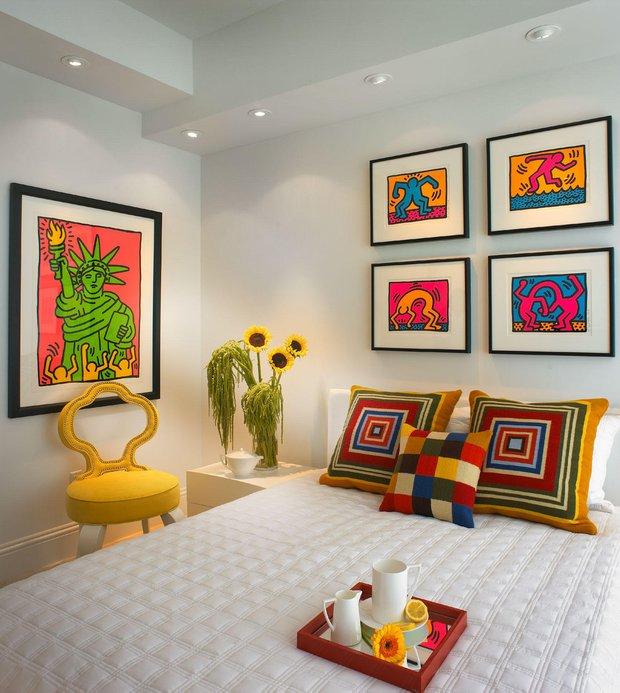 Фотография: Спальня в стиле Современный, Стиль жизни, Советы, Поп-арт – фото на INMYROOM