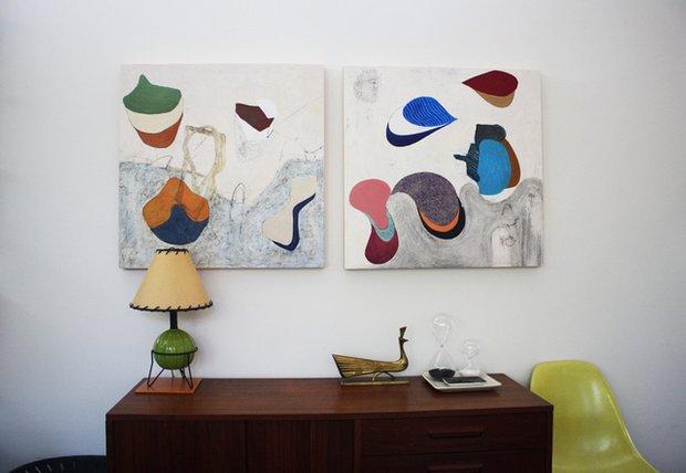 Фотография: Декор в стиле Скандинавский, Декор интерьера, Декор дома, Картины, Современное искусство – фото на INMYROOM